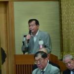 髙野伸生・地方議員懇談会会長の報告