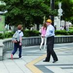 街頭活動の様子1