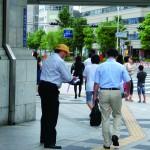 街頭活動の様子2