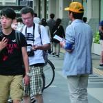 街頭活動の様子3