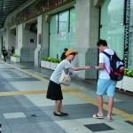 街頭活動の様子4