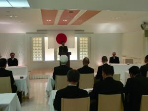 寺井神社庁長の挨拶